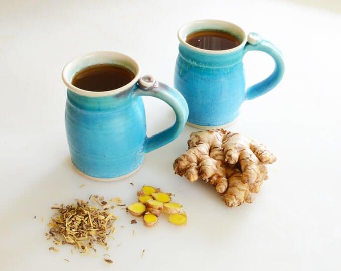 ginger licorice tea