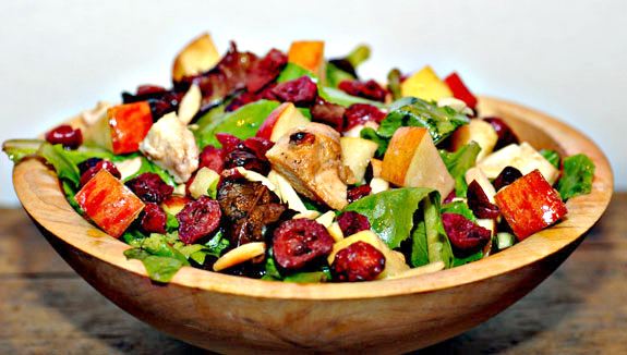 Paleo Chicken Salad with Almonds Recipe | Elana's Pantry