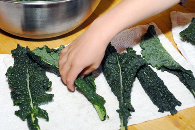 Can you eat kale stalks