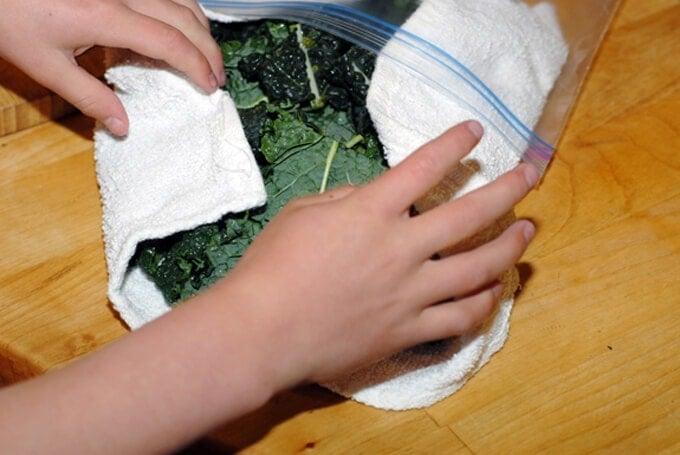 Kale Prep Recipe