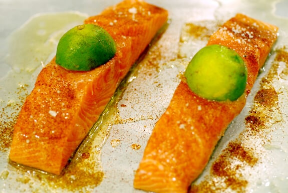 chipotle lime salmon recipe