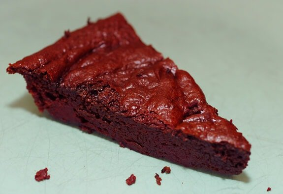 Purple velvet torte healthy chocolate beet flourless cake for Gluten free chocolate beetroot cake