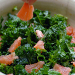 kale salad with grapefruit recipe