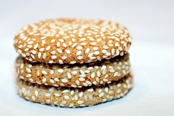 sesame cookies paleo gluten-free recipe