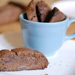 double chocolate mocha biscotti gluten-free recipe