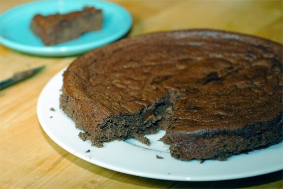 flourless chocolate banana cake recipe gluten-free