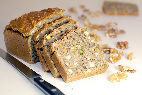 Nutty Bread | Gluten Free Bread with Seeds and Nuts
