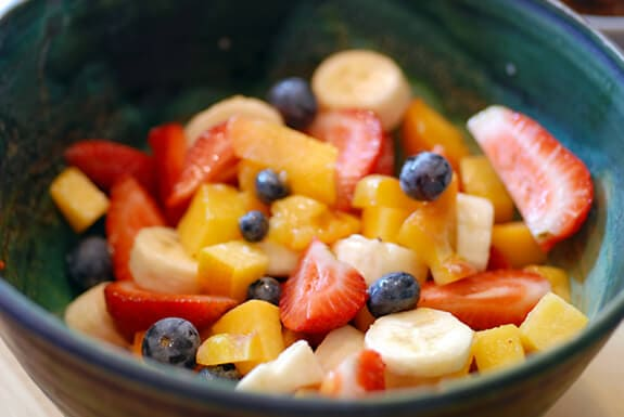 simple fruit salad recipe