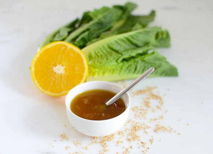 Low-Carb Asian Salad Dressing