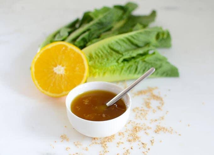 Low-Carb Asian Salad Dressing
