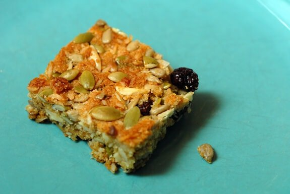 breakfast bars gluten-free recipe