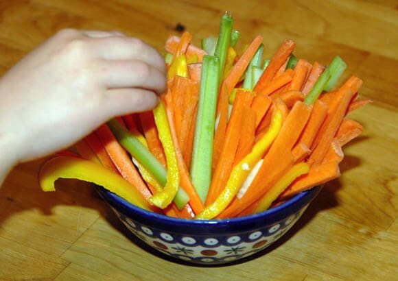 easy veggie snack
