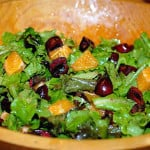cherry orange salad paleo salad