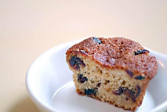 gluten-free cranberry lemon muffin recipe