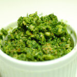 kale almond pesto paleo recipe
