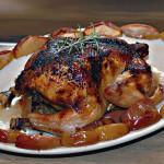 rosemary apple chicken paleo dinner recipe