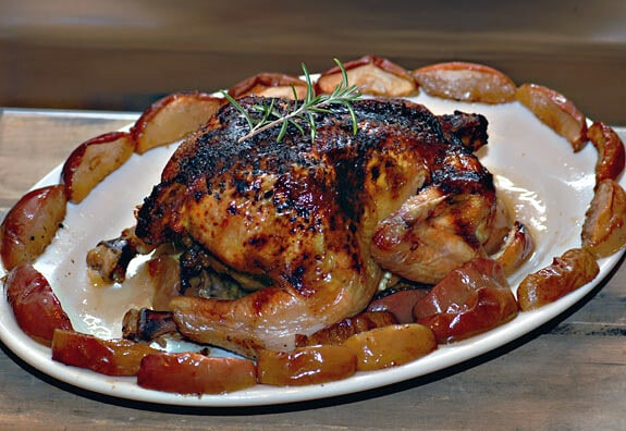 rosemary apple chicken paleo dinner recipe