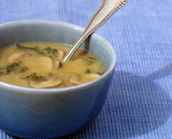 Yellow Split Pea Soup with Smoked Paprika Recipe