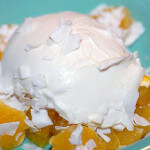 yogurt with orange and coconut recipe