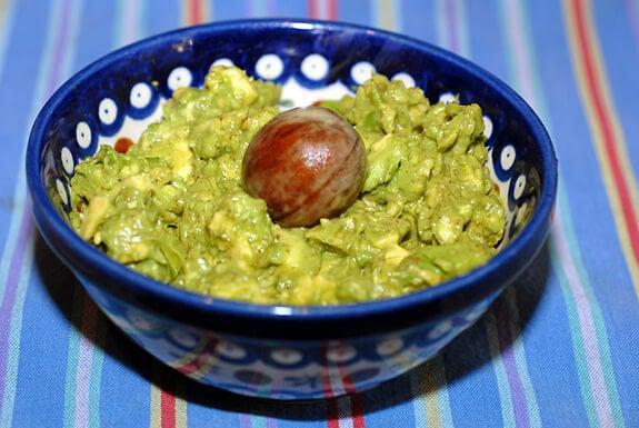 savory avocado spread