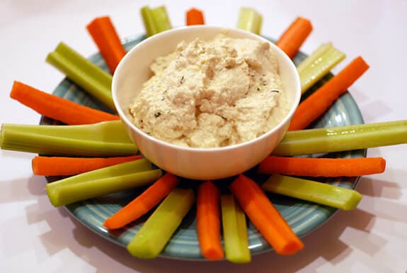 "Creamy ""Ricotta"" Dip recipe"