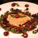 chicken with cherries and kale recipe