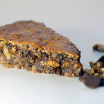 chocolate walnut flourless torte