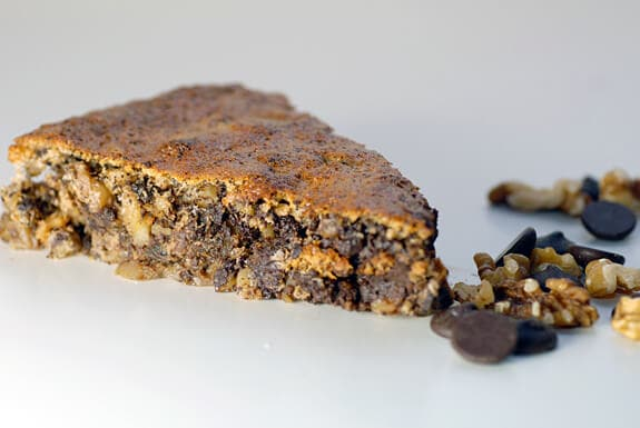 Chocolate Walnut Torte | Paleo Flourless Dessert Recipe