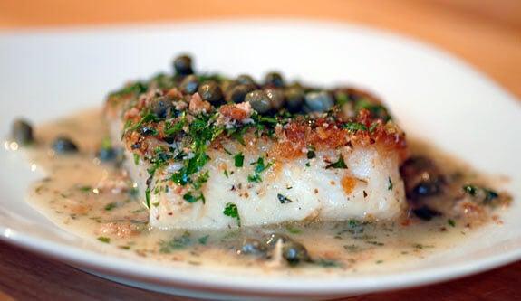 Gluten free cod piccata recipe elana 39 s pantry for Cod fish protein
