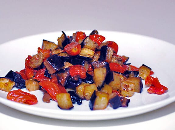 eggplant caponata paleo recipe