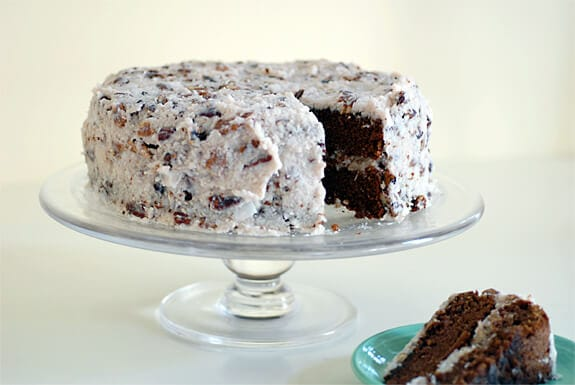 german chocolate cake gluten-free recipe
