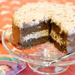 german chocolate cake coconut pecan filling chocolate frosting gluten-free