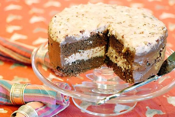 German Chocolate Cake Revised Recipe Elana S Pantry