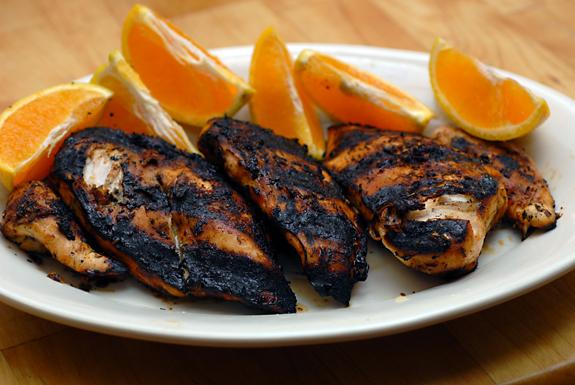 Grilled Chipotle Orange Chicken | Paleo Dinner Recipe
