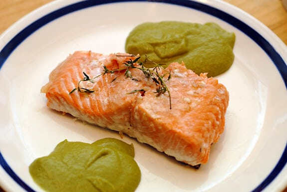 Thyme Salmon
