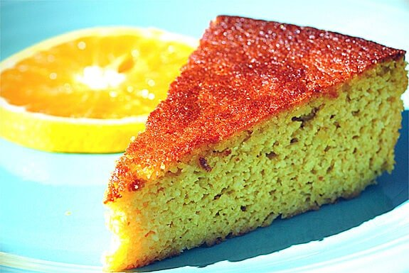 gluten free homemade orange cake recipe