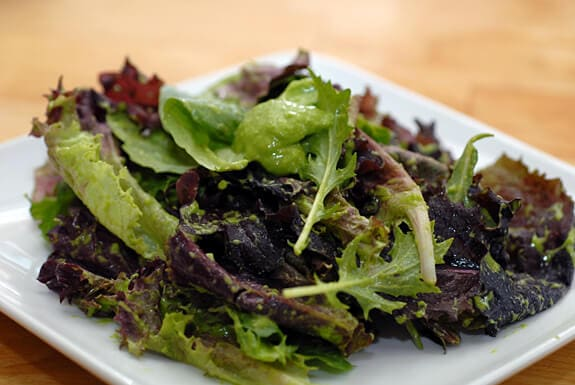 pear parsley salad dressing recipe