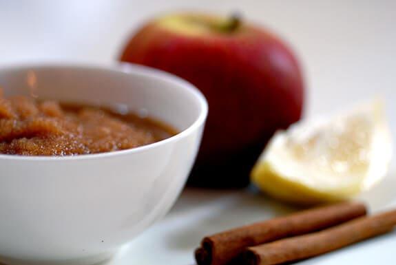 raw apple sauce