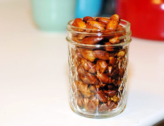 smoked paprika almonds