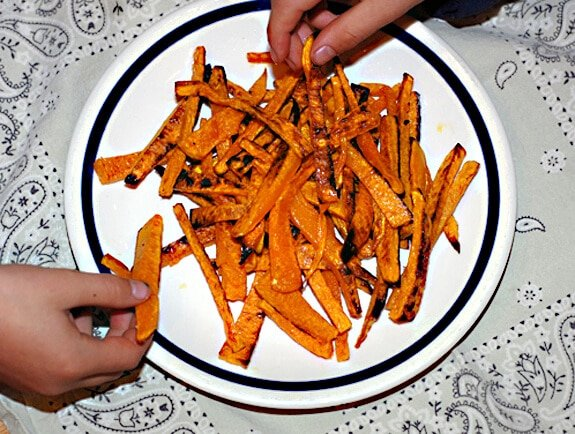 squash french fries recipe