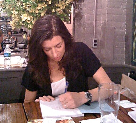 elana book signing at friedman's nyc