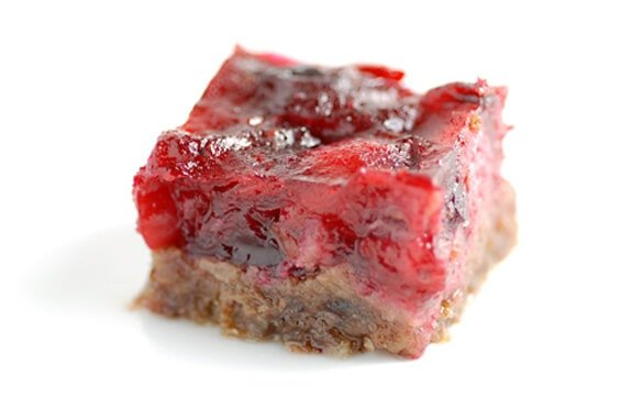 cranberry bars recipe