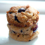 Cranberry Walnut Chocolate Chip Cookies paleo cookie recipe