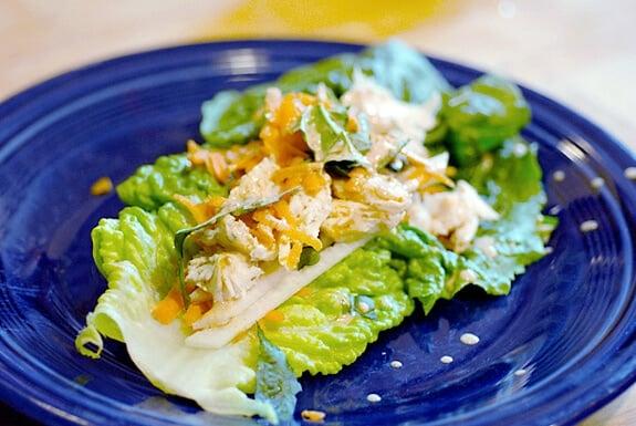 Thai Chicken Wraps | Gluten Free Recipe