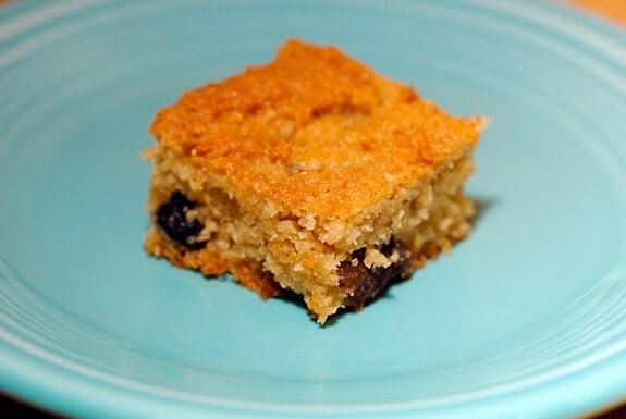 gluten free cherry apricot cake