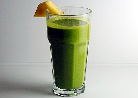 ginger cilantro shake