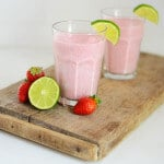 Keto Strawberry Lime Smoothie
