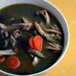 gluten free green chicken soup