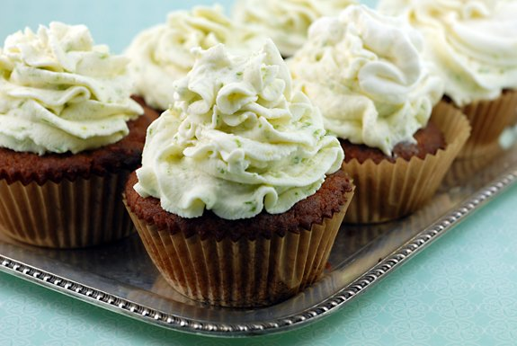 Coconut Cupcakes with Key Lime Icing Recipe | Elana's Pantry
