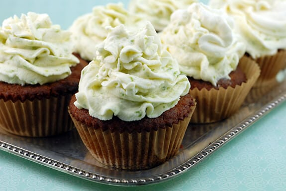 gluten free coconut cupcakes key lime icing frosting recipe
